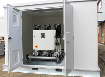Stuart Turner Cold Water Packaged Pump System Cabinet
